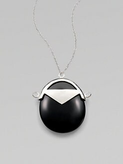 Low Luv - Black Jade Pendant Necklace