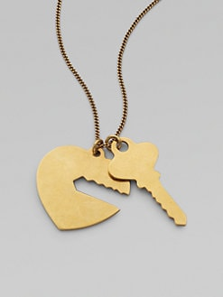 Stella McCartney - Key & Heart Pendant Necklace