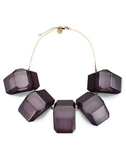 Stella McCartney - 14K Gold Faceted Statement Necklace