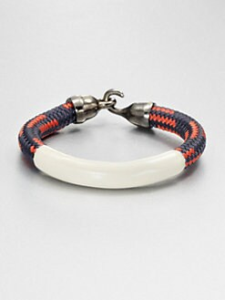 Orly Genger - Enamel Coated Rope Bracelet
