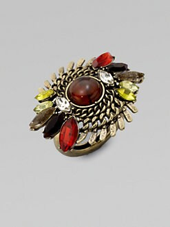 ABS by Allen Schwartz Jewelry - Embellished Cocktail Ring