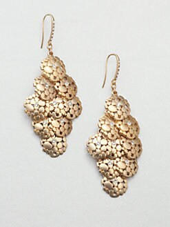 ABS by Allen Schwartz Jewelry - Pave Cascade Earrings