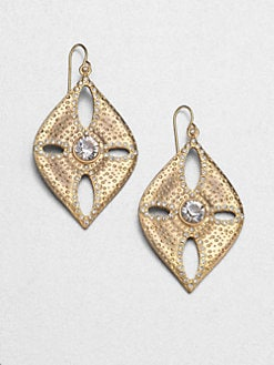 ABS by Allen Schwartz Jewelry - Sand Dollar Drop Earrings