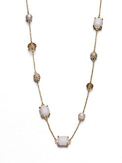 Kate Spade New York - Multi-Jeweled Chain Necklace