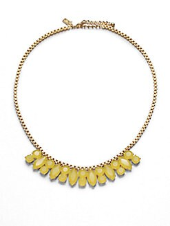 Kate Spade New York - Jeweled Chain Necklace