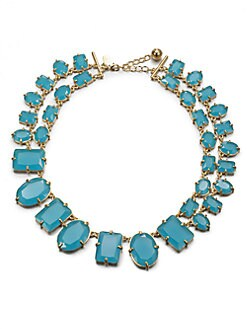 Kate Spade New York - Geometric Double-Row Necklace