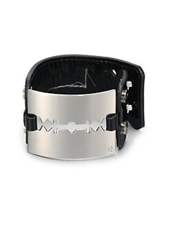 McQ Alexander McQueen - Leather Cuff Bracelet