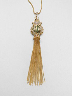 ABS by Allen Schwartz Jewelry - Tassel Pendant Necklace