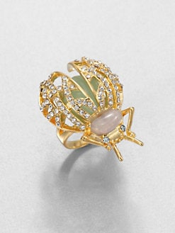 ABS by Allen Schwartz Jewelry - Beetle Cocktail Ring