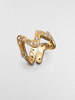 CA&LOU - Wave Ring/Goldtone