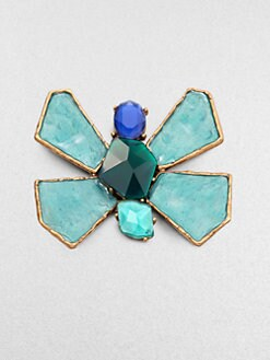 Oscar de la Renta - Bright Butterfly Brooch