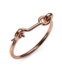 Eddie Borgo - Door Latch Bracelet/Rose Gold
