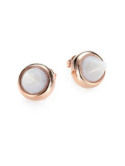 Eddie Borgo - Agate Cone Stud Earrings