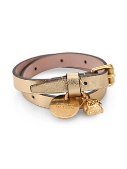 Alexander McQueen - Leather Wrap Bracelet