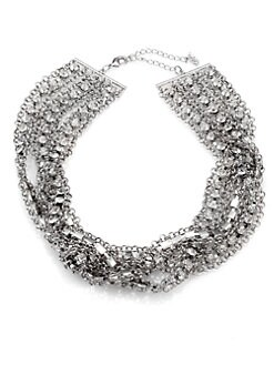 ABS by Allen Schwartz Jewelry - Multi-Strand Sparkle Necklace