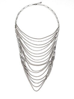 ABS by Allen Schwartz Jewelry - Draped Swag Bib Necklace