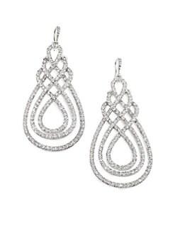 ABS by Allen Schwartz Jewelry - Scrolly Drop Earrings