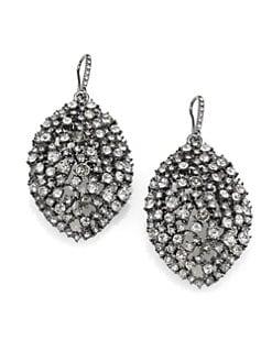 ABS by Allen Schwartz Jewelry - Faceted Almond Drop Earrings