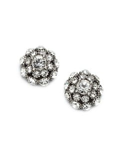 Kate Spade New York - Putting on the Ritz Stud Earrings/Silvertone
