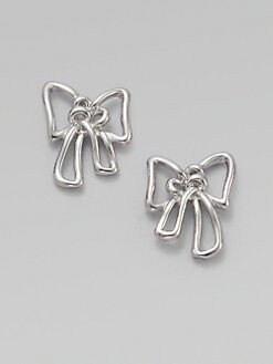 Marc by Marc Jacobs - Bow Stud Earrings