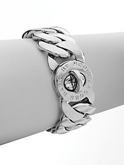 Marc by Marc Jacobs - Katie Turnlock Bracelet/Silver