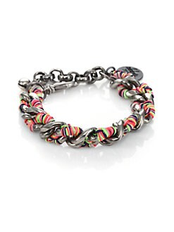 Venessa Arizaga - Chain and Threadwork Bracelet