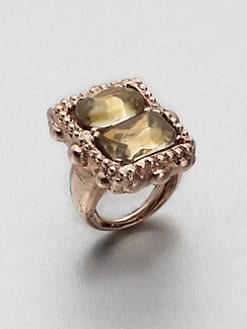 Oscar de la Renta - Faceted Stone Ring