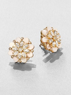 Kate Spade New York - Bungalow Bouquet Button Earrings