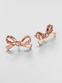 Kate Spade New York - Skinny Mini Bow Earrings