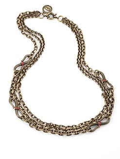 Giles & Brother - Multi-Chain Serpent Necklace