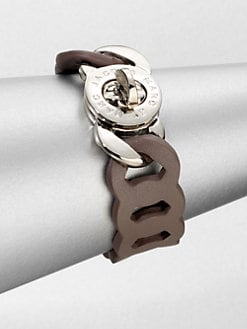 Marc by Marc Jacobs - Leather Turnlock Bracelet