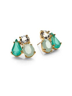 Kate Spade New York - Three-Stone Cluster Earrings