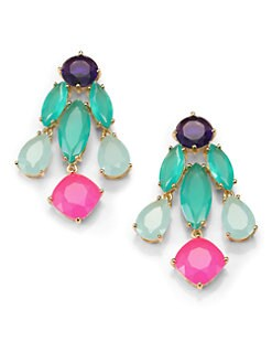 Kate Spade New York - Jewel-Tone Chandelier Earrings