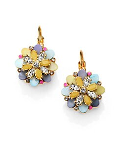 Kate Spade New York - Multicolor Flower Earrings