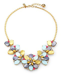 Kate Spade New York - Multicolor Multi-Flower Necklace