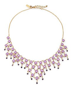 Kate Spade New York - Purple Stone Bib Necklace