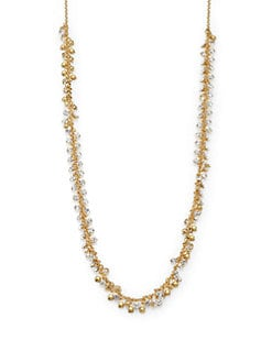 Kate Spade New York - Dangling Rhinestone Necklace