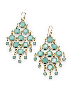 Kate Spade New York - Faceted Chandelier Earrings