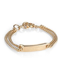 Marc by Marc Jacobs - Double-Chain ID Bracelet