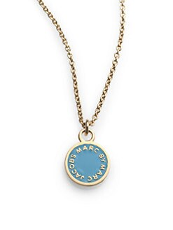 Marc by Marc Jacobs - Enamel Disc Necklace