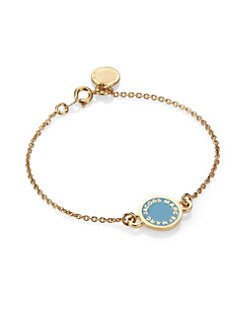 Marc by Marc Jacobs - Enamel Disc Chain Bracelet