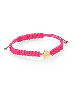 Marc by Marc Jacobs - Macramé Friendship Bracelet