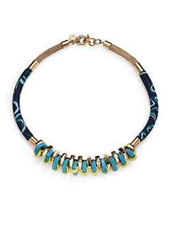 Marc by Marc Jacobs - Multi-Woven Bolt Necklace