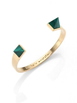 Kelly Wearstler - Malachite Capped Bracelet