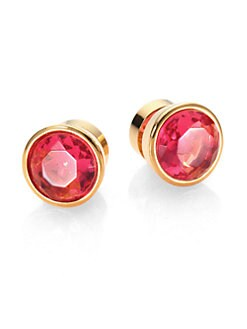 Michael Kors - Large Faceted Stud Earrings
