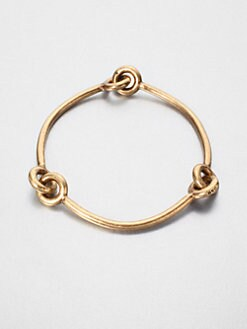 Giles & Brother - Archer Bangle Bracelet/Brass