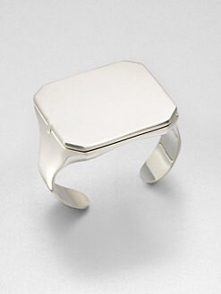 Maison Martin Margiela - Flip Top Mirror Cuff Bracelet