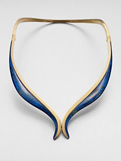 Vionnet - Collar Necklace/Blue