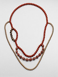 FLorian - Layered Bead Necklace