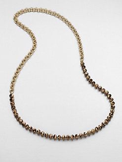 FLorian - Beaded Chain Link Necklace